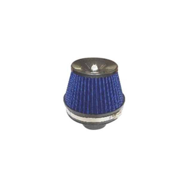 Blue Air Filter / Reusable Engine Air Filter High Flow Along With Low Noise