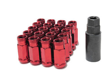 "19 Hex Wheel Mate Đuốc Đuôi Đuôi Lug Nuts Đặt 1/2 "", Open End Lug Nuts"
